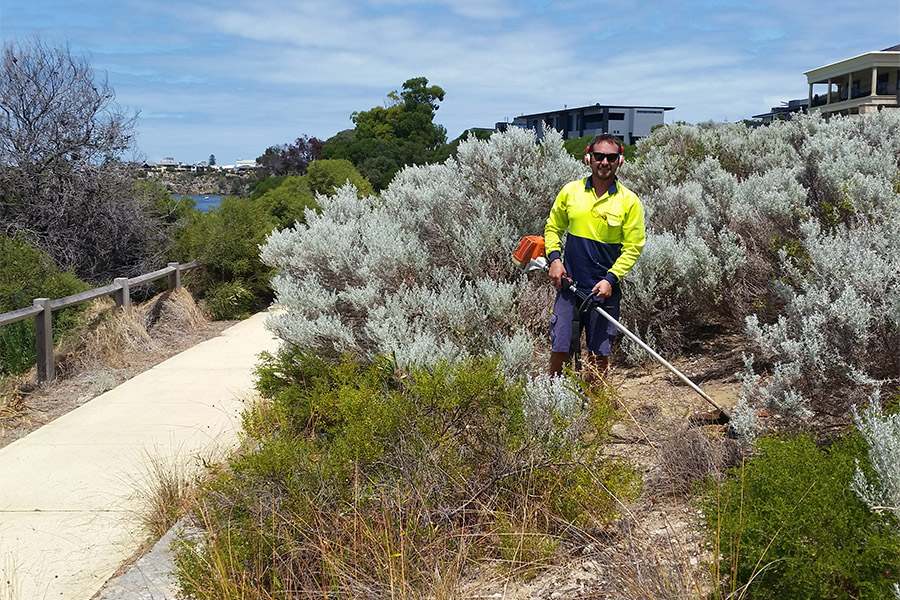 Fire reduction and general maintenance for the Town of Mosman Park